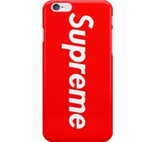 Red Supreme Iphone Case iPhone Case/Skin