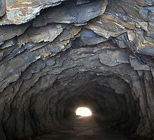 Light at the end of the tunnel by Travis Easton