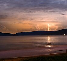 Umina Beach Storm by Andrew Murrell
