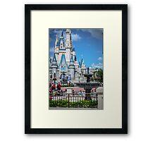 Castle Daze Framed Print