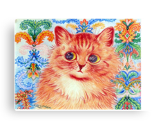 you've got to be kitten me right meow Canvas Print