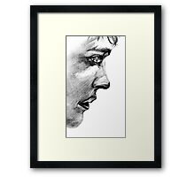 Merlin Profile Framed Print