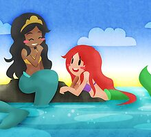 OUAT - Mermaids by chocominto