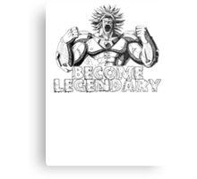 BECOME LEGENDARY-  BROLY Metal Print