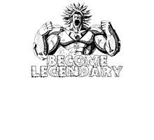 BECOME LEGENDARY-  BROLY Photographic Print