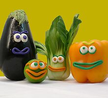 veggie tale  by NataliaBubble
