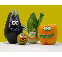 veggie tale  Photographic Print