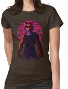 Midnight Animal - Tiger Womens Fitted T-Shirt