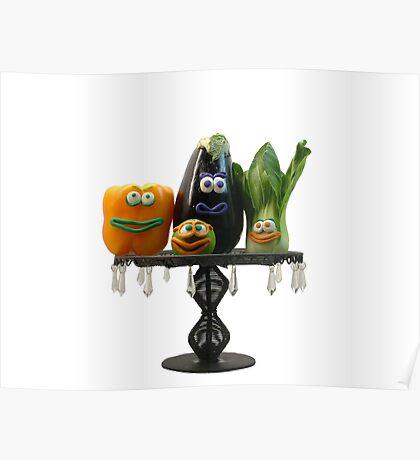 Veggie tray  Poster