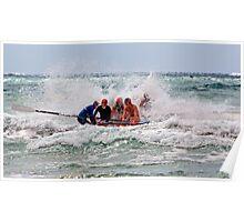 Lorne SLSC surf carnival Feb 2009 (21) Poster