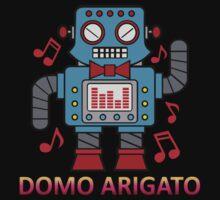 Domo Arigato Mr Roboto Kids Clothes