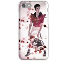Austin Warren - Red Glitter Disco iPhone Case/Skin
