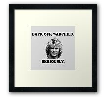 WARCHILD Framed Print