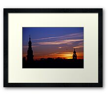 Minarets of the Plaza de Espana Framed Print