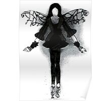 Crinkled Paper and Fairy Dust  Poster