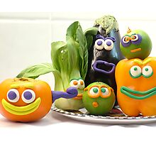 vegetable cacophony Photographic Print