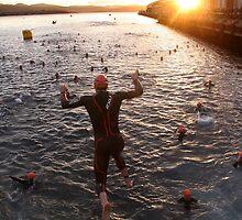 Dawn Splash by fotosports