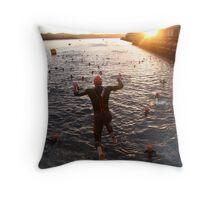 Dawn Splash Throw Pillow