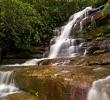 Somersby Falls after heavy rain by Andrew Murrell