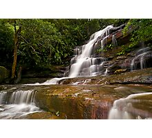 Somersby Falls after heavy rain Photographic Print