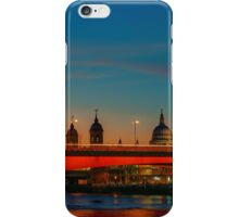 London At Twilight, England iPhone Case/Skin