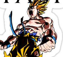 I AM GOING TO SHOW YOU HOW GREAT I AM- GOKU Sticker