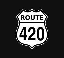 Route 420 US highway sign Cannabis Unisex T-Shirt