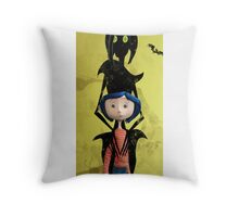 Beauty Coraline Throw Pillow