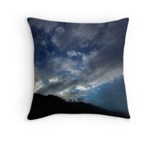 The last of day Throw Pillow