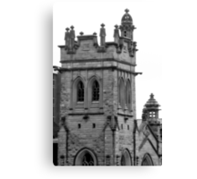 Castle-Like Cathedral Canvas Print