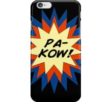 Pa-Kow Comic Exclamation Shirt iPhone Case/Skin