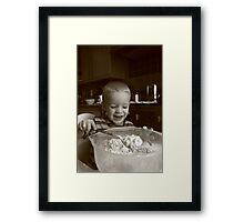 Yummy! Framed Print