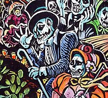 Day of The Dead Ghouls Night Out by D5DBEST