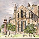 Hexham Abbey by GEORGE SANDERSON