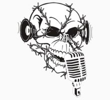 Singing Skull  Kids Clothes