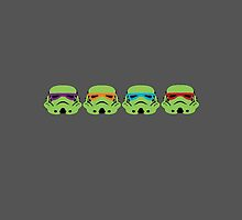 TEENAGE MUTANT NINJA TROOPERS (green) by greatbritton99