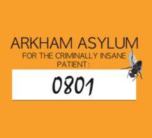 Joker's Arkham Asylum Shirt by zoturner