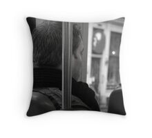 Alone in Thought Throw Pillow