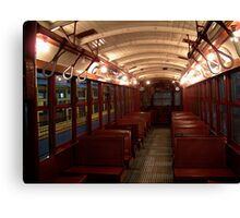 Trolley Cathedral Canvas Print