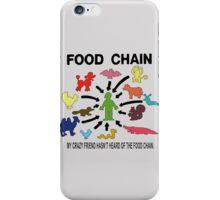 FOOD CHAIN iPhone Case/Skin