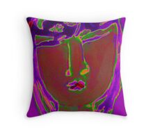 Portrait of Precious Throw Pillow