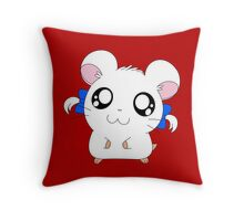 Bijou with Ribbons Throw Pillow
