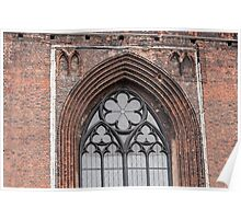 Gothic arch. Poster