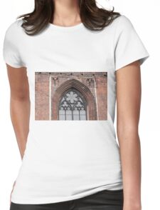 Gothic arch. Womens Fitted T-Shirt