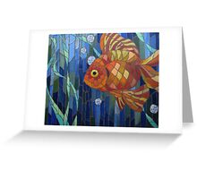 under the sea with a fish like me Greeting Card