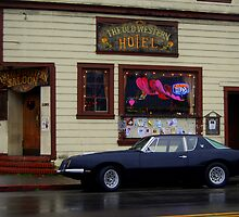 The Western Saloon, Point Reyes, California 1 by Bob Moore
