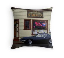 The Western Saloon, Point Reyes, California 1 Throw Pillow