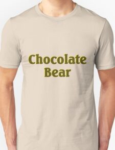 Scrubs Chocolate Bear Unisex T-Shirt