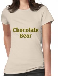Scrubs Chocolate Bear Womens Fitted T-Shirt