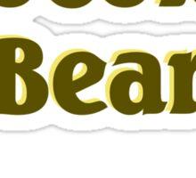 Scrubs Chocolate Bear Sticker